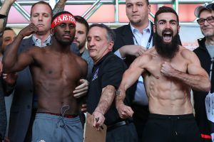 BJ2I2200 1 300x200 - Photos: Tevin Farmer, Jono Carroll make weight in Philly