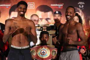 BJ2I5758 300x200 - Bivol, Smith Jr. make weight; Hooker needs multiple trips to scale