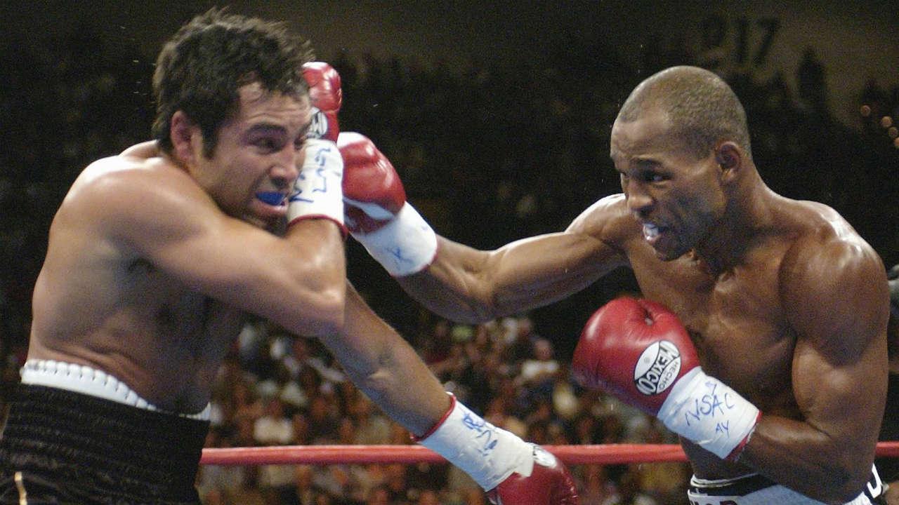 Bernard Hopkins vs. Oscar De La Hoya Photo credit Laura Rauch Associated Press - David vs. Goliath: A boxing history lesson