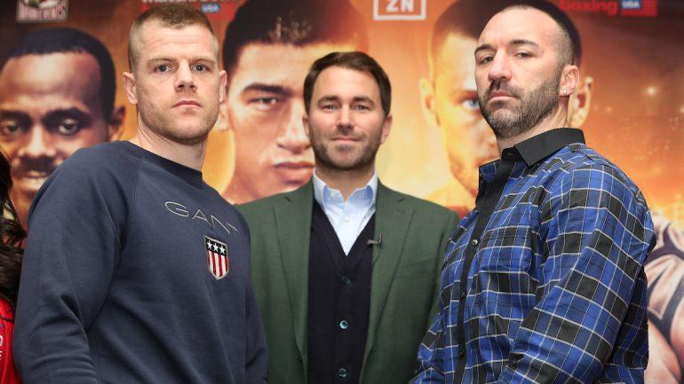 Callum Johnson seeks 'performance of the night' against Sean Monaghan