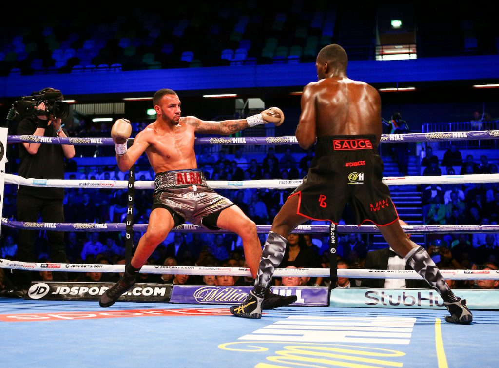CopBox Okolie Camacho 53 1024x754 - Charlie Edwards dominates Angel Moreno over 12, Lawrence Okolie and Joshua Buatsi score stoppages