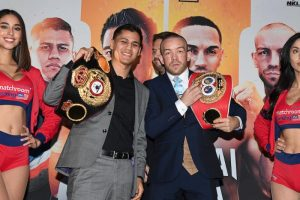 Danny Roman TJ Doheny 300x200 - Press release: Sor Rungvisai-Estrada rematch/Roman-Doheny unification tickets on sale now