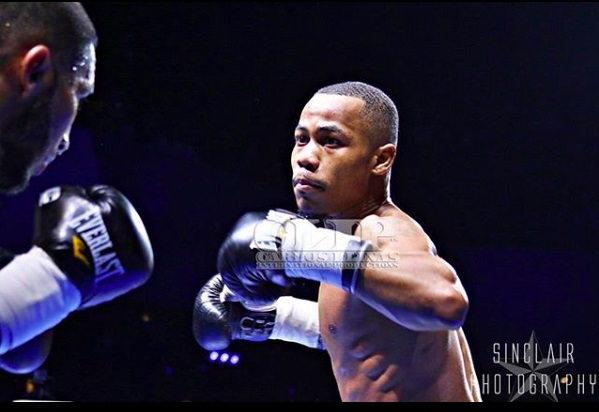 Bantamweight Jarico O'Quinn. Photo credit: Sinclair Photography