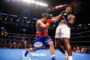 LR SHO FIGHT NIGHT ORTIZ VS HAMMER TRAPPFOTOS 03022019 2996 300x200 - The Travelin' Man goes to Brooklyn, NY: Part Two