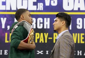 Spence Garcia final presser staredown Jason Janik FOX Sports 300x203 - Dougie's Monday mailbag (Terence Crawford criticism, 'overrated' heavyweights)