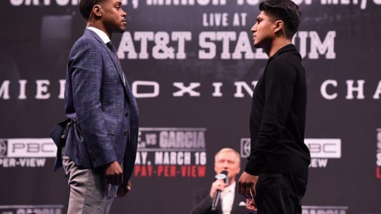 Live: Errol Spence vs. Mikey Garcia final press conference
