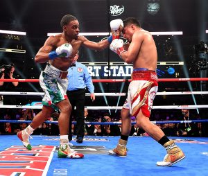 Spence Garcia Photo by Frank Micelotta Fox Sports PictureGroup 300x254 - Ring Ratings Update: Errol Spence enters Pound-for-Pound top five