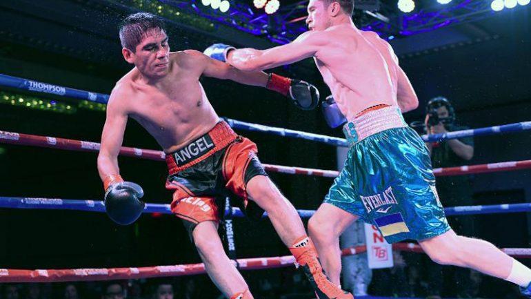 Press release: Taras Shelestyuk sweeps the scorecards over Martin Angel Martinez