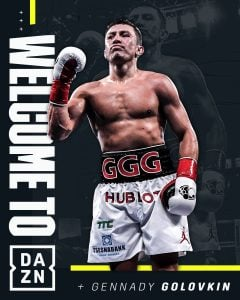 Gennady Golovkin signs six-fight deal with DAZN