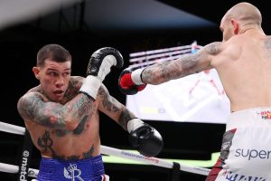 rosado sulecki 300x200 - Olympic gold medalist Daniyar Yeleussinov goes 8 rounds for first time as pro