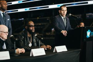 wilder breazeale press 0010 300x200 - Deontay Wilder makes his move in a divided heavyweight division