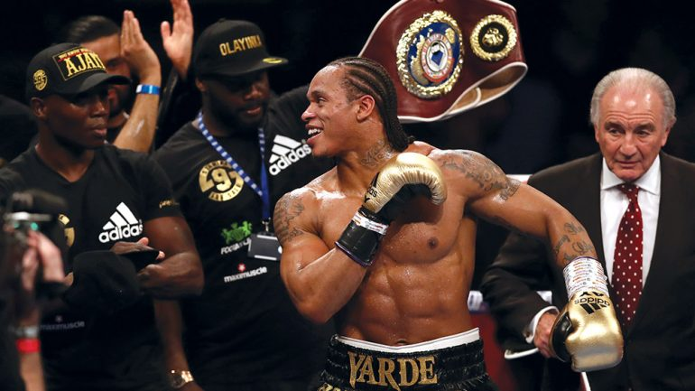Anthony Yarde healing from personal loss, focused on the future