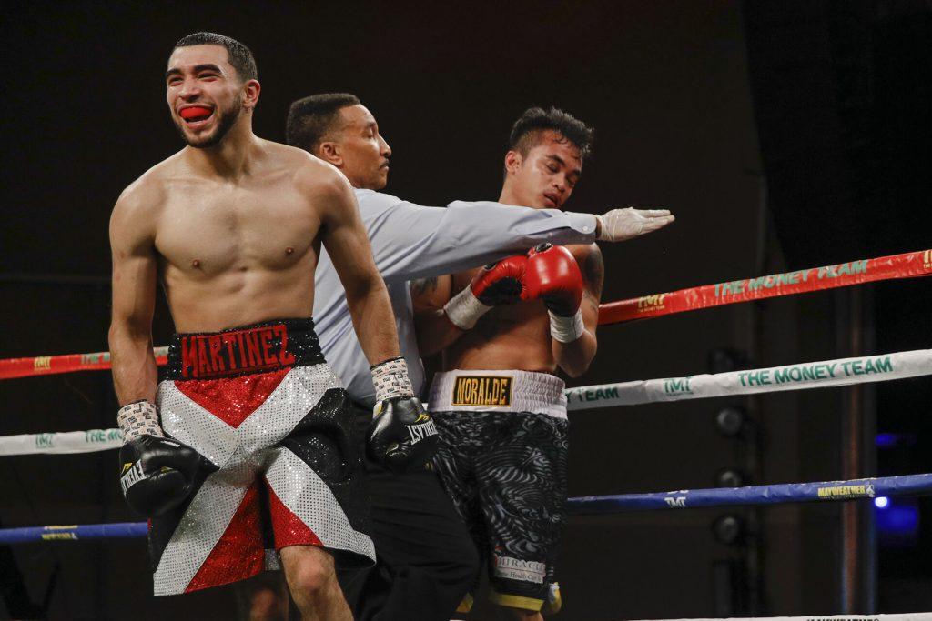 016 Xavier Martinez vs John Moralde 1024x683 - Angelo Leo dominates Neil Tabanao in ShoBox debut, wins shutout decision