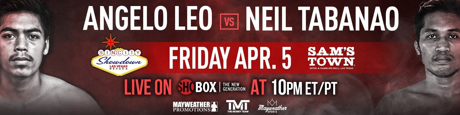 Angelo Leo vs. Neil John Tabanao banner - Leonard Ellerbe talks Angelo Leo, upside of 'ShoBox' cards