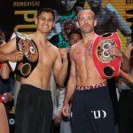 BJ2I0913 150x150 - Photos: Srisaket Sor Rungvisai, Juan Estrada make weight for rematch