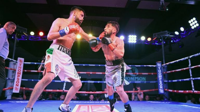Press release: Erick Ituarte outpoints Jose Estrella in 10-round 'Locked n' Loaded' main event