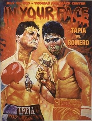 Johnny Tapia (left) vs. Danny Romero
