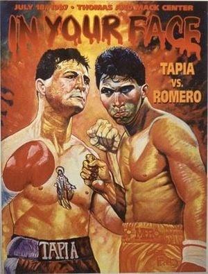 Johnny Tapia vs. Danny Romero poster - Best I Faced: Danny Romero