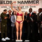 LR SHO WEIGH IN CHRISTINA HAMMER TRAPPFOTOS 04122019 7757 150x150 - Claressa Shields-Christina Hammer weigh-in results and photo gallery