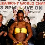 LR SHO WEIGH IN CLARESSA SHIELDS TRAPPFOTOS 04122019 2799 150x150 - Claressa Shields-Christina Hammer weigh-in results and photo gallery