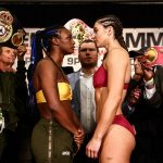 LR SHO WEIGH IN SHIELDS VS HAMMER TRAPPFOTOS 04122019 7820 150x150 - Claressa Shields-Christina Hammer weigh-in results and photo gallery