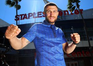 """Loma at Staples 300x215 - Lomachenko ready for a """"defensive"""" Crolla, still chasing undisputed championship and history"""