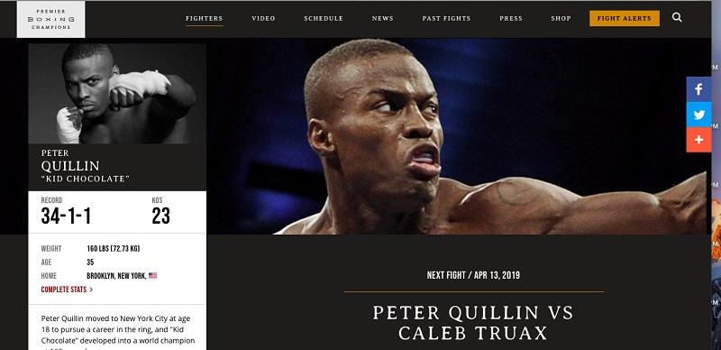 Peter Quillin Caleb Truax PBC profile - Is Peter Quillin ready for Caleb Truax on Saturday?