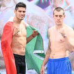 Ramirez Karpency weighin 02 latinbox 150x150 - Photo gallery: Lomachenko-Crolla weigh-in results