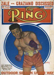 Ring cover 1947 Robinson 215x300 - Dougie's Monday mailbag (Vasiliy Lomachenko, Claressa Shields, the P4P debate, ATG questions)