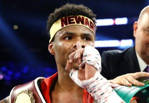 Shakur Stevenson shhhh 300x208 - Shakur Stevenson goes ten for the first time, outboxes Christopher Diaz at MSG