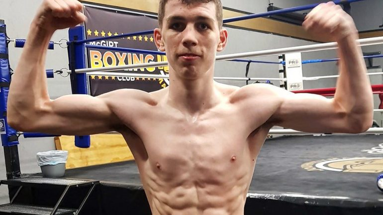 Irish amateur star Stephen McKenna follows brother Aaron into professional boxing