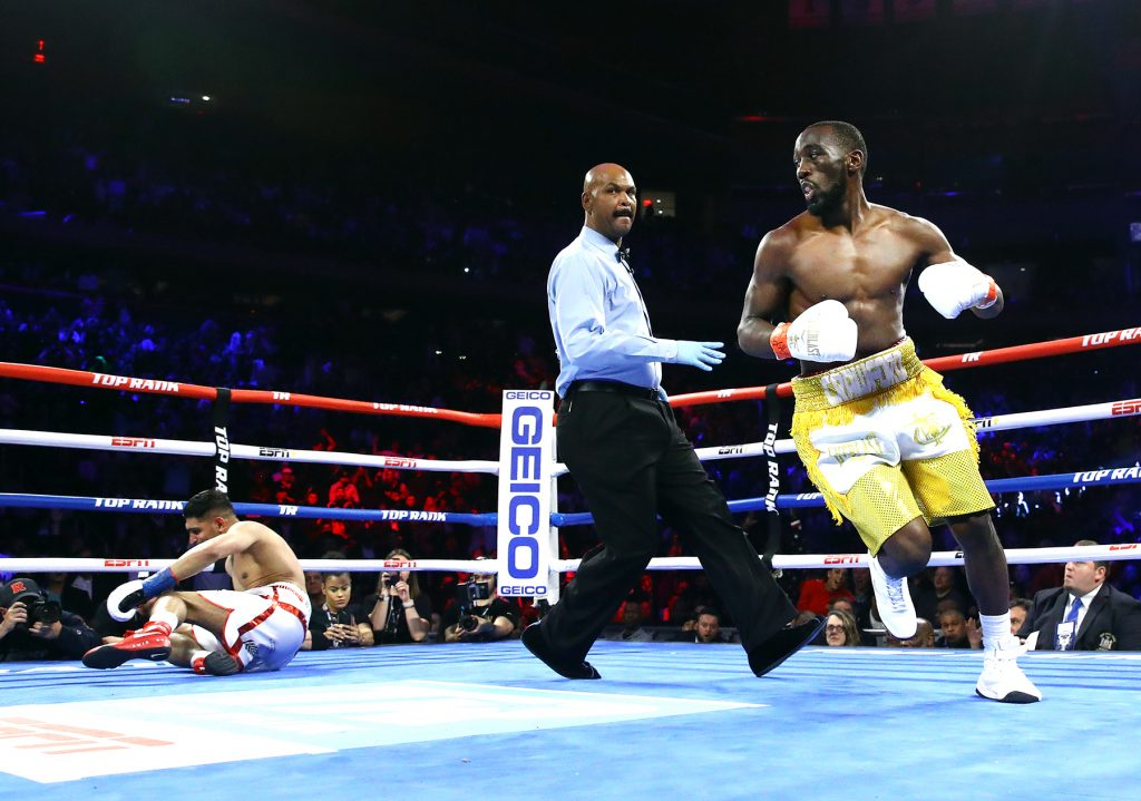 Terence Crawford vs Amir Khan knockdown view3 1024x719 - Terence Crawford gives challenger Kell Brook respect, promises to put on a show