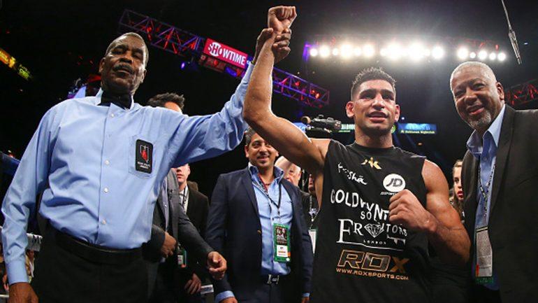 Amir Khan's last five fights