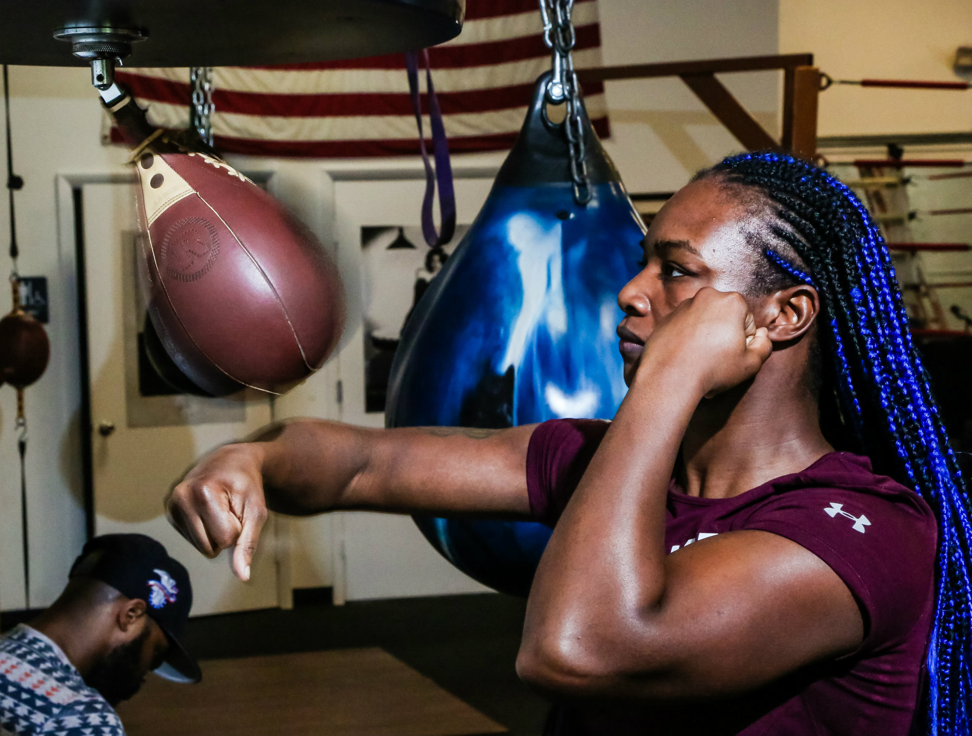 claressa shields speedbag - Is Claressa Shields-Christina Hammer the biggest fight in women's boxing history?