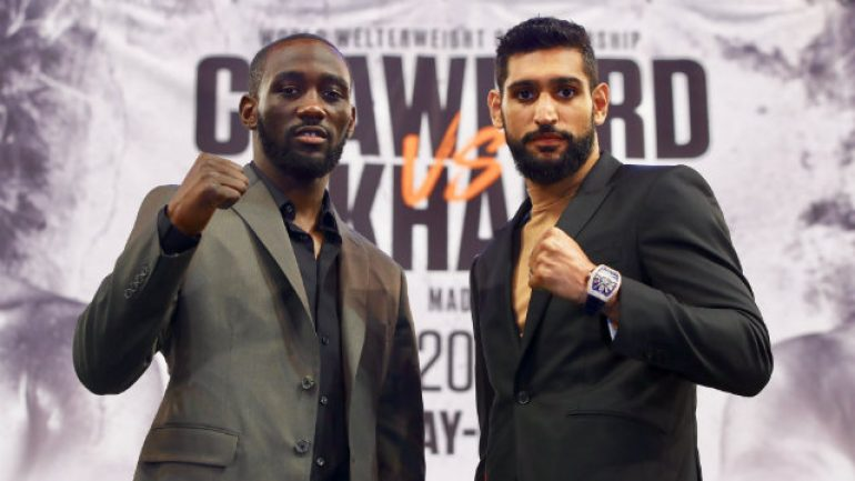 Selling Crawford-Khan at The Garden, Bob Arum is on his A-game