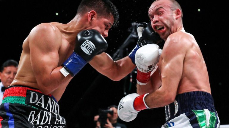 Daniel Roman out-duels TJ Doheny to unify titles; Jessie Vargas stops game Humberto Soto