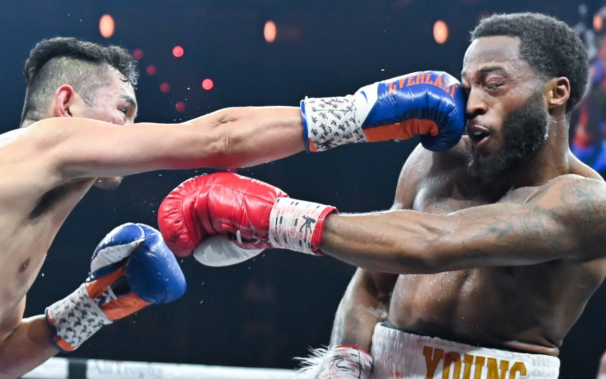 donaire young DAZN - Regis Prograis claims first major title in dominating fashion against Relikh