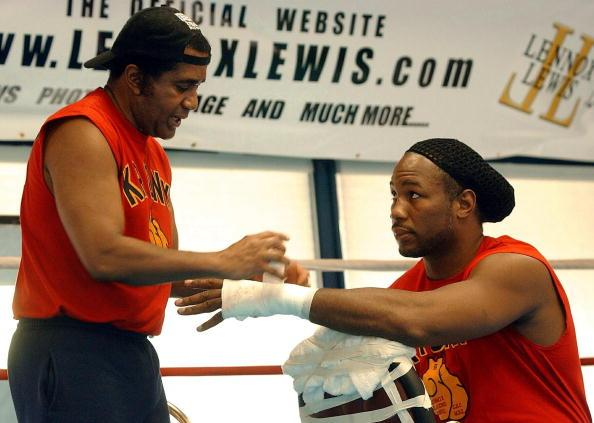 emanuel steward and lennox lewis - Dougie's Friday mailbag (changing trainers, Crawford and Spence, tattoos)