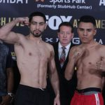 garcia granados weighin1 150x150 - After numerous close calls, Adrian Granados out to win a big one against Danny Garcia