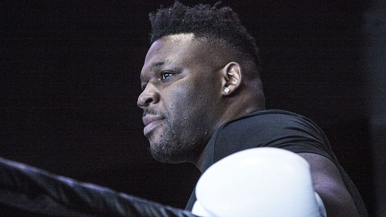 Jarrell Miller: 'I messed up, I made a bad call'
