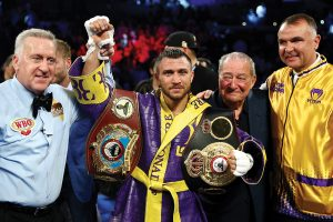 lomachenko GettyImages 1142349708 300x200 - The Boxing Esq. Podcast, Ep. 27: Top Rank President Todd duBoef
