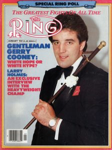 ring cover jan81 cooney 224x300 - The SiriusXM boxing talents weigh in on Loma's loss explanation