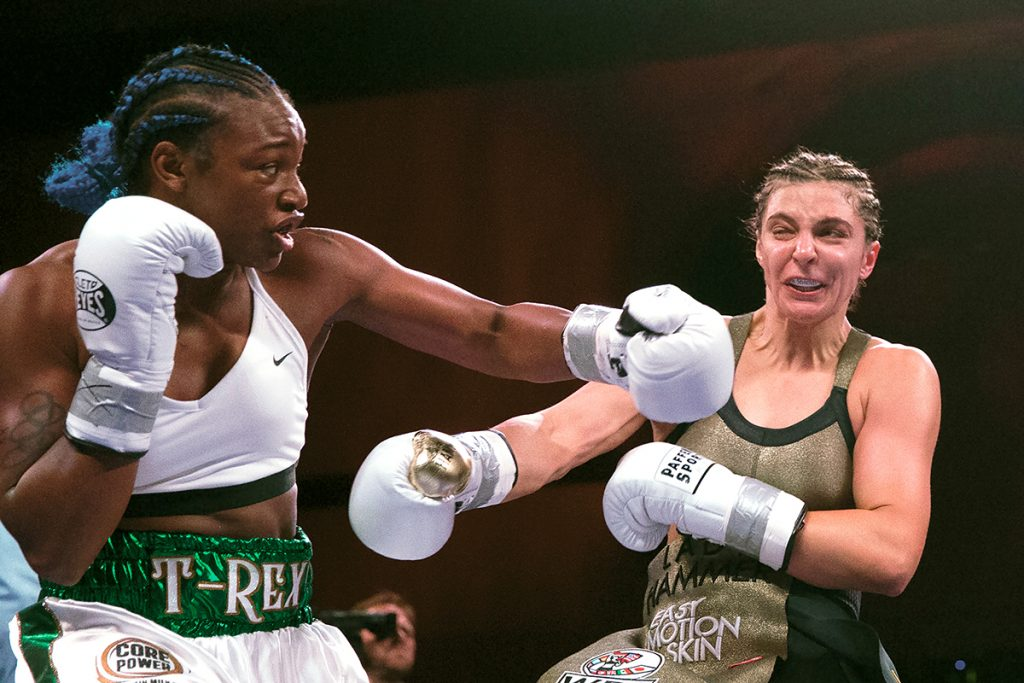 shields hammer GettyImages 1136954123 1024x683 - Claressa Shields after Taylor-Persoon: Tonight proved I'm the 'GWOAT'
