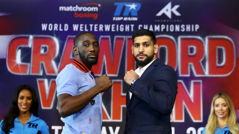 Dougie's Friday Mailbag (Crawford-Khan, ultimate mythical matchups in every weight class)