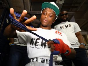 DOgboe wraps1 300x224 - Isaac Dogboe lost more than a fight against Emanuel Navarrete, now he wants it back