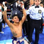 EMANUEL NAVARRETE celebrates 150x150 - Emanuel Navarrete wants to show first win was no fluke by KOing Isaac Dogboe in rematch