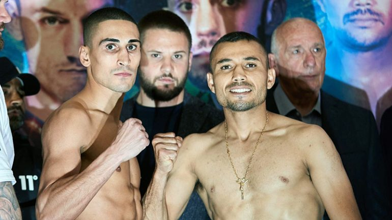 Enrique Tinoco shocks Jordan Gill, stops British featherweight in eight rounds