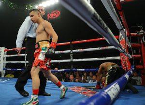 Genaro Gamez KO Evangelista Hoganphotos 300x217 - Romero Duno edges Juan Rodriguez via technical decision in a gut check
