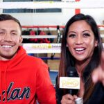 Gennady Golovkin and Cynthia Conte at Big Bear camp 150x150 - Watch: Gennady Golovkin discusses training for Steve Rolls with new coach Jonathon Banks in Big Bear