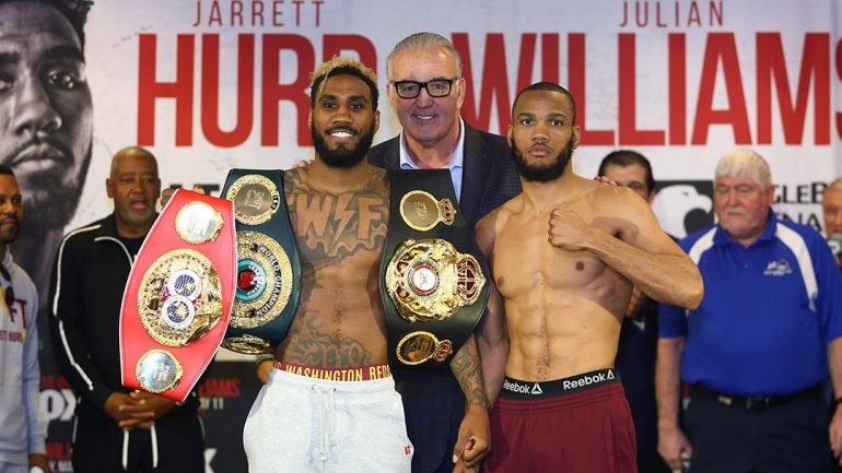 Jarrett Hurd: 'I respect Julian Williams. He's a good fighter. He's just not as good as me'